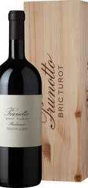 Вино красное сухое «Prunotto Bric Turot Barbaresco» 2016 г. в подарочной упаковке