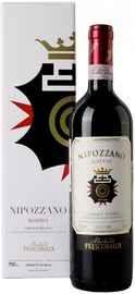 Вино красное сухое «Nipozzano Chianti Rufina Riserva» 2016 г. в подарочной упаковке