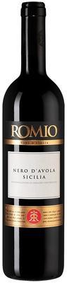 Вино белое полусухое «Romio Nero d Avola Sicilia» 2018 г.