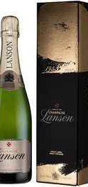 Шампанское белое брют «Lanson Gold Label Brut Vintage» 2009 г. в подарочной упаковке