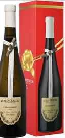 Вино белое сухое «Chardonnay Piave Italo Cescon » 2016 г. в подарочной упаковке
