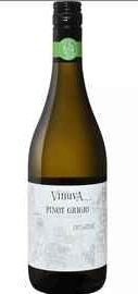 Вино белое сухое «Vinuva Pinot Grigio Terre Siciliane Biologico» 2018 г.