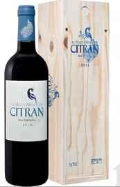 Вино красное сухое «Le Haut Medoc De Citran» 2011 г. в подарочной упаковке