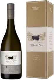 Вино белое сухое «Le Grand Noir Chardonnay Pays d Oc» 2018 г. в подарочной упаковке