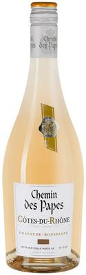 Вино белое сухое «Chemin des Papes Blanc Cotes du Rhone» 2018