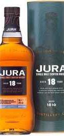 Виски «Isle Of Jura 18 years old» в подарочной упаковке