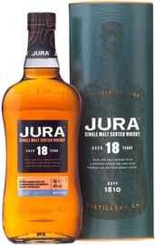 Виски шотландский «Jura 18 years old» в тубе