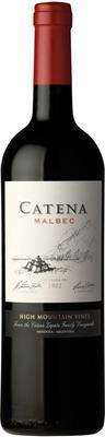 Вино красное сухое «Catena Malbec, 0.75 л» 2017 г.