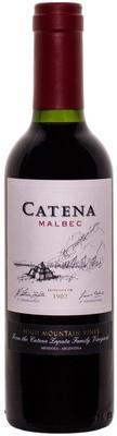 Вино красное сухое «Catena Malbec, 0.375 л» 2017 г.