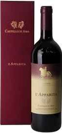 Вино красное сухое «Merlot l Apparita» 2015 г. в подарочной упаковке