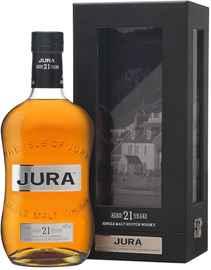 Виски «Isle Of Jura 21 years old» в подарочной упаковке