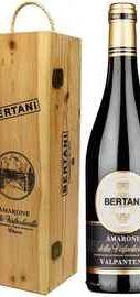 Вино красное сухое «Bertani Amarone della Valpolicella Valpantena» 2016 г. в деревянной коробке