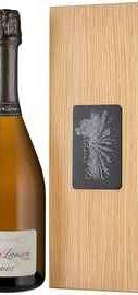 Шампанское белое экстра брют «Lanson Clos Lanson Blanc de Blancs» 2007 г. в  деревянной коробке