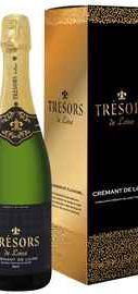 Вино игристое белое брют «Tresors De Loire Cremant De Loire Joseph Verdier»