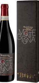 Вино красное сухое «Montebruna Barbera d Asti» 2017 г. в подарочной упаковке