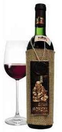 Вино столовое красное полусладкое «Душа Монаха» сувенирное