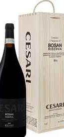 Вино красное полусухое «Cesari Amarone Della Valpolicella Classico Riserva Bosan Gerardo Cesari» 2010 г., в деревянной подарочной упаковке