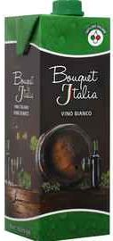 Вино белое сухое «Bouquet Italia  (Tetra Pak)»