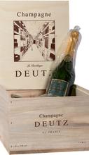 Шампанское белое брют «Deutz Brut Classic» в деревянной подарочной упаковке набор из 6 бутылок