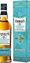 Виски шотландский «Dewar's Caribbean Smooth 8 Years Old» в подарочной упаковке