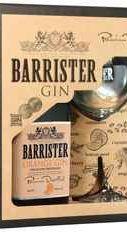 Джин «Gin Barrister Orange» в подарочной упаковке