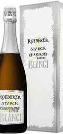 Шампанское белое экстра брют «Louis Roederer Brut Nature» 2012 г., в подарочной упаковке
