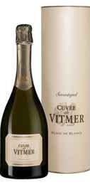 Вино игристое белое брют «Кюве де Витмер» в тубе
