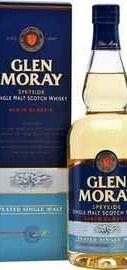 Виски шотландский  «Glen Moray Single Malt Elgin Сlassic Peated» в подарочной упаковке