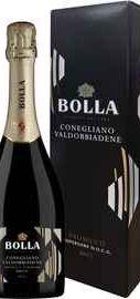 Вино игристое белое брют «Bolla Prosecco Superiore Conegliano Valdobiaddene» в подарочной упаковке
