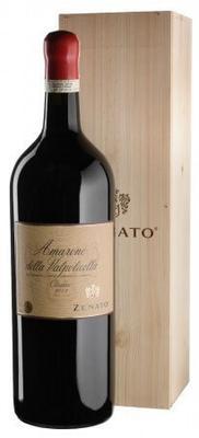 Вино красное полусухое «Zenato Amarone della Valpolicella Classico» 2015 г. в деревянной коробке