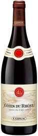 Вино красное сухое «E Guigal Cotes du Rhone Rouge» 2016 г.