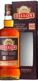 """Ром «Dillon"""" Hors d'Age XO Martinique» в подарочной упаковке"""