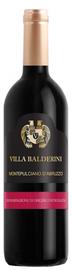 Вино красное сухое «Villa Balderini Montepulciano D'Abruzzo» 2018г.