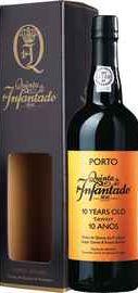 Портвейн сладкий «Porto 10 ANOS Quinta do Infantado Tawny» в подарочной упаковке