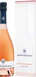 Шампанское розовое брют «Brut Rose Cuvee des Moines Besserat de Bellefon, 0.75 л» в подарочной упаковке