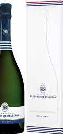 Шампанское белое брют «Brut Cuvee des Moines. Besserat de Bellefon » в подарочной упаковке