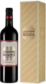 Вино красное сухое «Jean-Pierre Moueix Bordeaux» в подарочной упаковке
