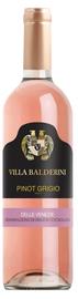 Вино розовое сухое «Villa Balderini Pinot Grigio Delle Venezie Rosato» 2018г.