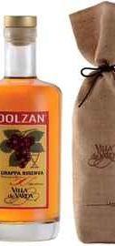 Граппа «Grappa Riserva Dolzan 50%» в подарочной упаковке