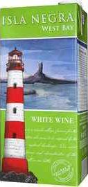 Вино белое полусухое «Isla Negra West Bay White Tetra Pak» 2019 г.
