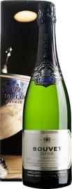 Вино игристое белое брют «Bouvet Ladubay Saphir Brut Vintage Saumur» 2014 г. в подарочной упаковке