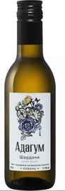 Вино белое сухое «Adagum Chardonnay Kuban»