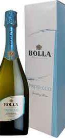 Вино игристое белое сухое «Bolla Prosecco Spumante» в подарочной упаковке