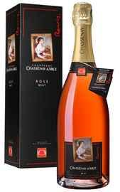 Шампанское розовое брют «Champagne Chassenay d'Arce Renoir Rose Brut» в подарочной упаковке