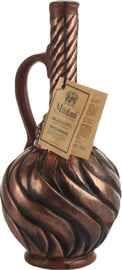 Вино красное полусладкое «Mildiani Kindzmarauli ceramic bottle Sun»
