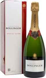 Шампанское белое брют «Bollinger Special Cuvee» в подарочной упаковке
