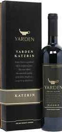 Вино красное сухое «Yarden Katzrin» 2014 г., в подарочной упаковке