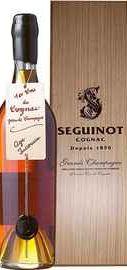 Коньяк французский «Seguinot Age Inconnu» в деревянной подарочной упаковке