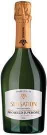 Вино игристое белое брют «Prosecco di Conegliano е Valdobbiadene Superiore Sensation»