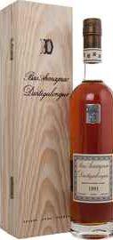 Арманьяк «Dartigalongue Bas Armagnac 1991» в деревянной подарочной упаковке